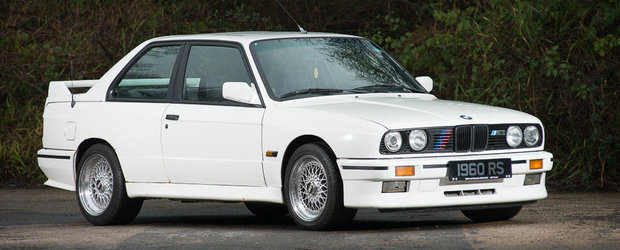 O bucatica din istoria BMW M poate fi acum a ta. Uite pentru cati bani