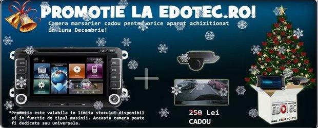 O camera video de marsarier, cadou la orice aparat cumparat de pe Edotec.ro!