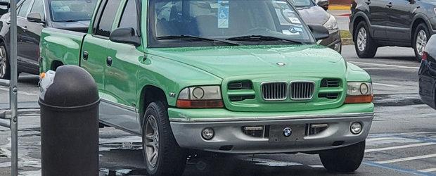 O camioneta Dodge din SUA se crede BMW. FOTO ca sa te confingi si singur