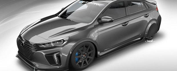 O companie auto aduce la cel mai mare salon de tuning din lume o masina modificata ca sa... consume mai putina benzina.