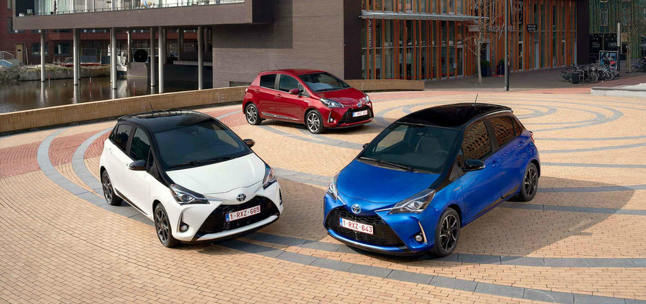O companie din Romania a cumparat o flota de automobile hibrid de la Toyota