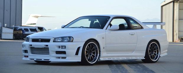 O companie din SUA inchiriaza japonezele pe care ai visat dintotdeauna sa le conduci. Vedeta este acest Nissan Skyline GT-R R34