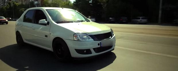 O Dacia Logan din Romania are acum 410 cp si prinde peste 250 km/h