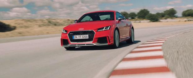 O fi el mic, dar nu ii e frica sa isi arate coltii atunci cand e provocat. Uite aici cat de bun este noul Audi TT RS!