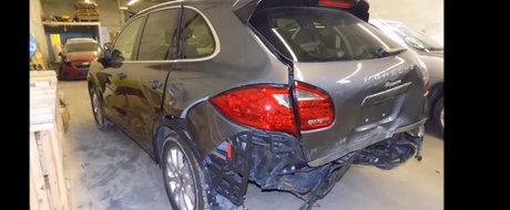 O fi fost el dauna totala, dar din mainile lui iese ca nou. Ai mai avea curaj sa folosesti Porsche-le asta?