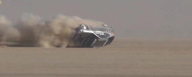 O Honda Insight se rastoarna la peste 300 km/h