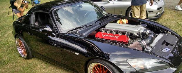 O Honda S2000 cu motor de Viper: Ingredientele unui tuning complet nebun