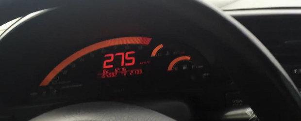 O Honda S2000 goneste cu 275 km/h pe drumurile publice