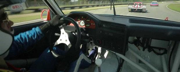 O iesire pe circuit cu un M3 E30 de curse 'coincide' cu o clipa in rai
