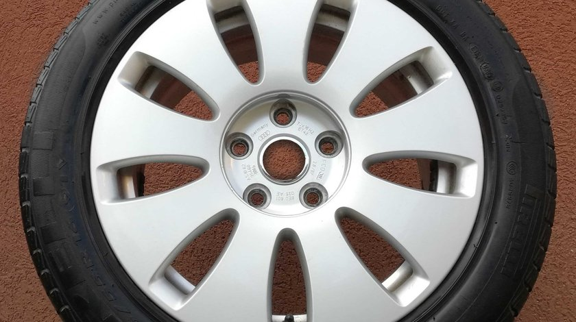 O Janta / Rezerva / Jante aliaj Audi 7J x 16 ET 35 - 4F0 601 025 N – 5x112 - Originale