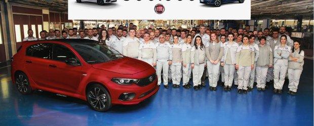 O jumatate de milion de modele Fiat Tipo din noua generatie au fost vandute
