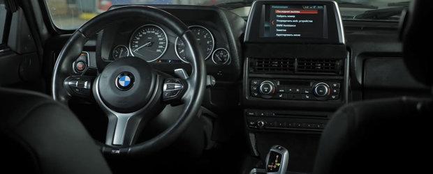 O LADA cu bord si motor de BMW circula pe strazile din Rusia. VIDEO