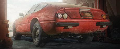 O legenda abandonata: Unicul Ferrari Daytona omologat pentru sosea a fost descoperit in Japonia