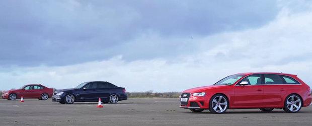 O liniuta ca in vremurile bune, cu trei V8-uri aspirate. Care crezi ca a fost mai rapid?