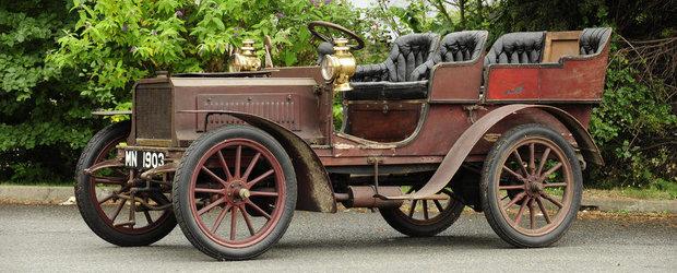 O masina clasica neidentificata, scoasa la licitatie in Anglia