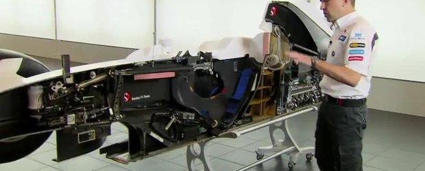 O masina de Formula 1, 'disecata' pentru a vedea care sunt secretele performantei extreme