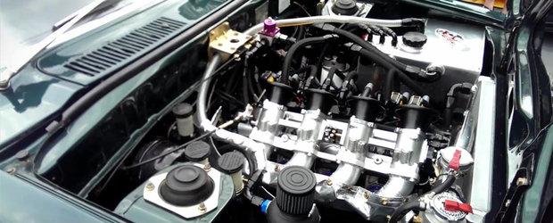 O Mazda RX-3 cu un motor rotativ cu 4 rotoare este doar o masina obisnuita de strada