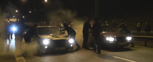 O noapte nebuna de curse ilegale cu masini demente