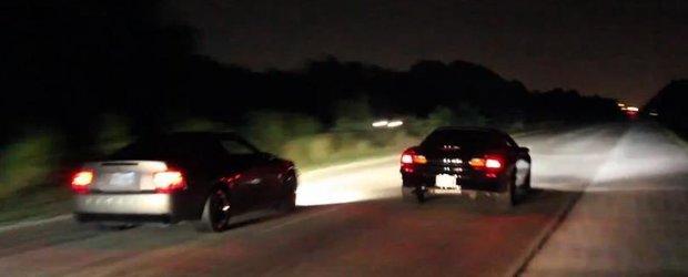 O noapte tarzie de curse ilegale, texan style!