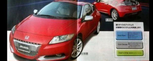O noua brosura pentru Honda CR-Z