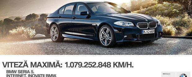 O noua campanie de imagine BMW in Romania