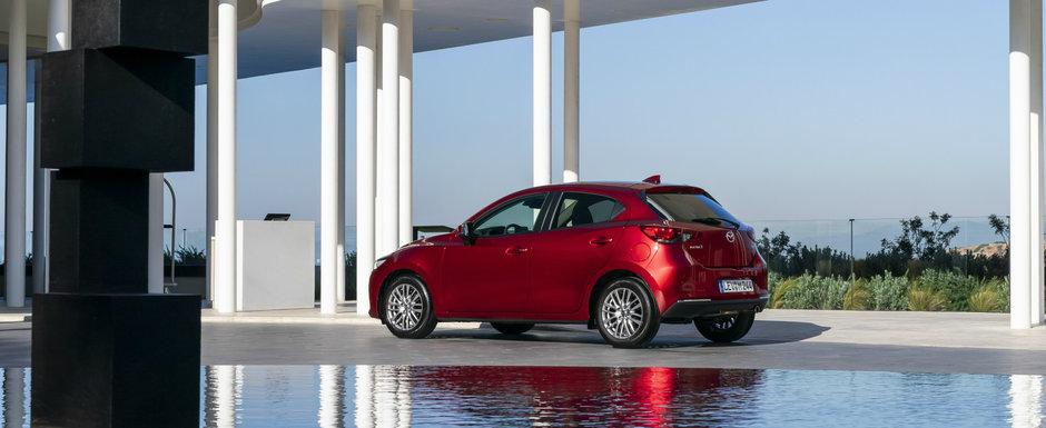 O poti cumpara numai cu motor de 1.5 litri si cutie manuala. Cat costa noua Mazda2 facelift in Romania