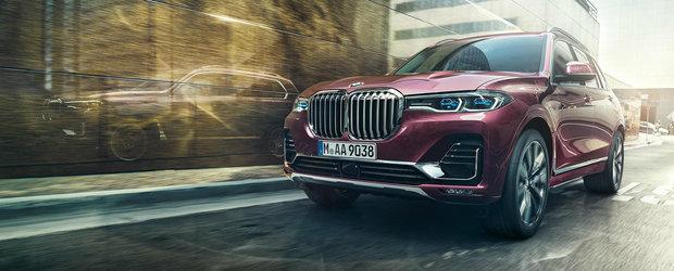 O sa-l vedem la fiecare colt de strada. Cat costa in Romania primul BMW X7 din istorie