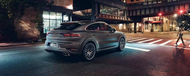 O sa-l vezi la fiecare colt de strada. Cat costa in Romania noul Porsche Cayenne COUPE
