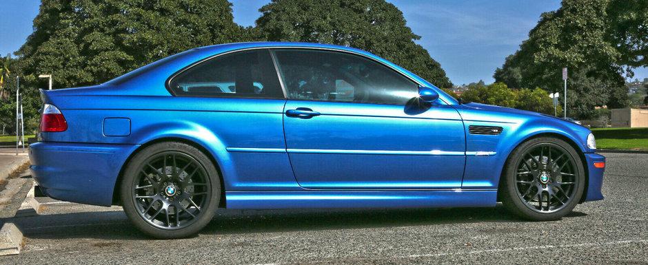 O sa te indragostesti nebuneste de el. Un BMW M3 cu motor Dinan si caroserie Estoril Blue se vinde acum in SUA