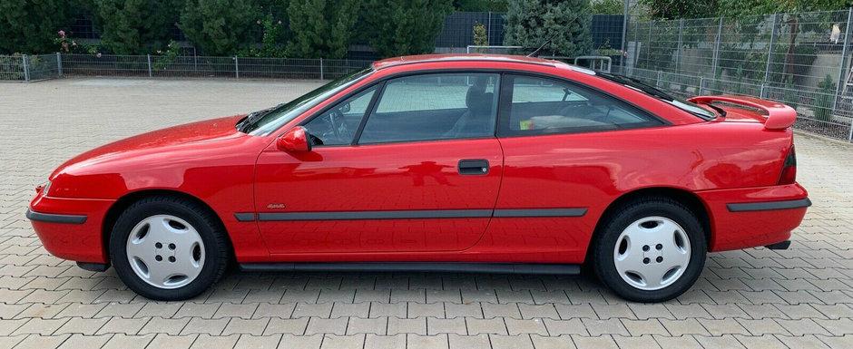 O sa te indragostesti nebuneste de el. Un Opel Calibra cu tractiune integrala si kilometri putini se vinde acum in Germania