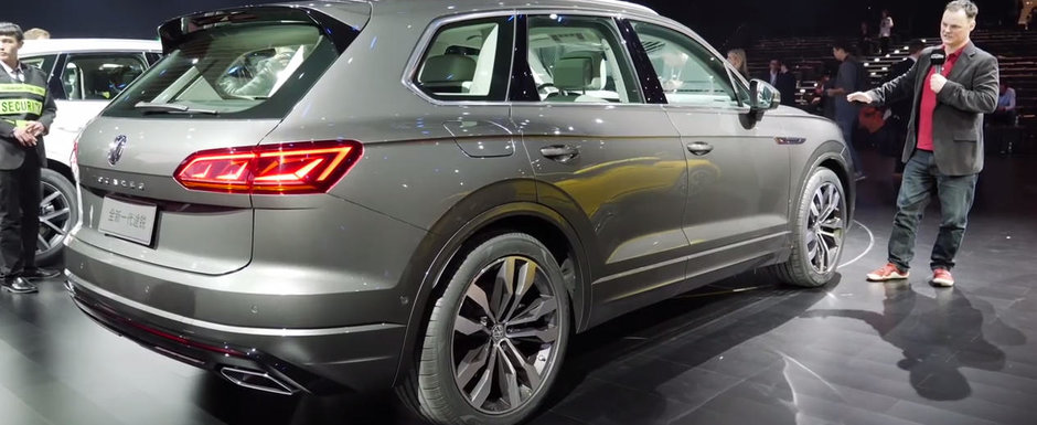 O sa uiti complet de Audi Q7 dupa ce vei vedea aceste imagini. Uite cum arata pe viu, fara Photoshop, NOUL VW TOUAREG!