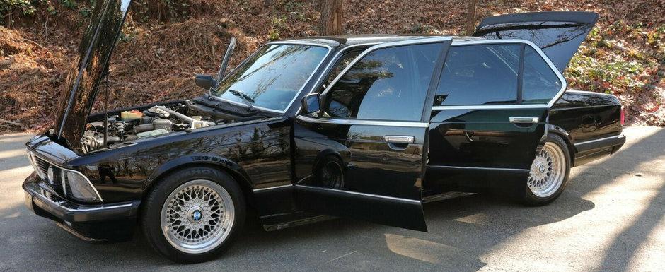O sa uiti de orice BMW nou dupa ce vei vedea cum arata acest Seria 7 modificat de la mijlocul anilor '80. POZE REALE