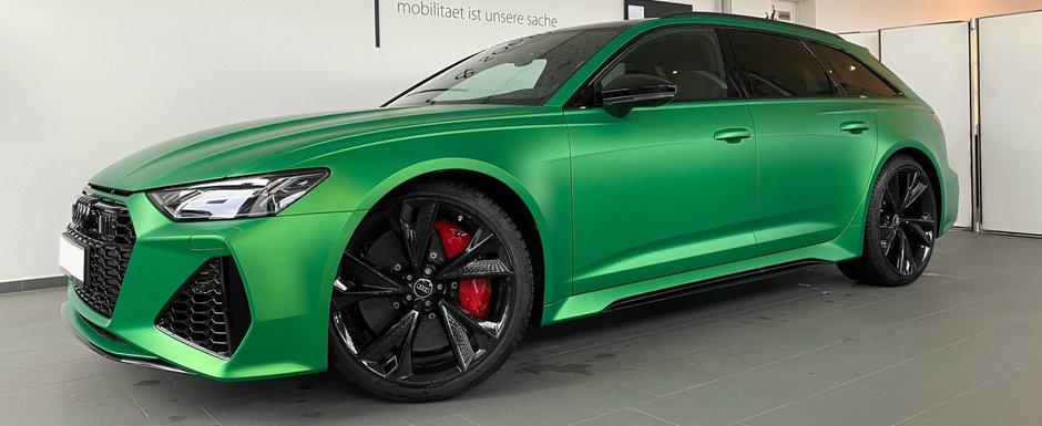 O sa uiti de orice M5 dupa ce vei vedea cum arata noul RS6 in verde mat. Pariu?