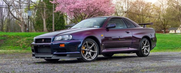 O sa uiti de orice masina noua dupa ce vei vedea cum arata acest Nissan Skyline GT-R V-Spec in Midnight Purple II. Foto ca sa te convingi si singur