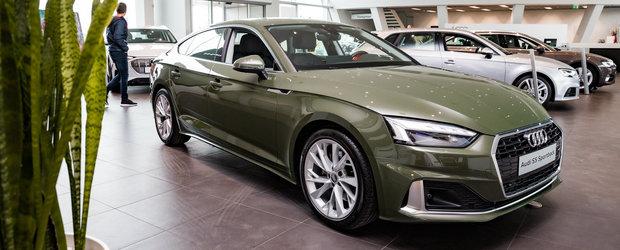 O sa uiti de orice Seria 4 dupa ce vei vedea cum arata acest Audi A5 finisat in nuanta District Green. FOTO ca sa te convingi si singur