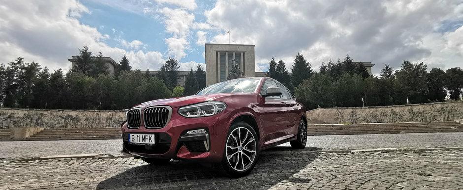 O saptamana cu BMW X4 M40d. Un DIESEL care iti suceste mintile