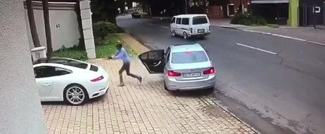 O sclipire de moment i-a permis sa-si pastreze masina. Cum a evitat in ultima clipa furtul pretiosului sau Porsche