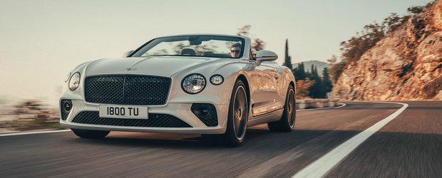 O singura privire si te indragostesti pe loc. Acesta este noul Bentley Continental GT Cabrio