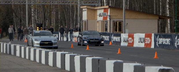 O singura zi, doua recorduri mondiale. Nissan GT-R face legea la UNLIM 500+