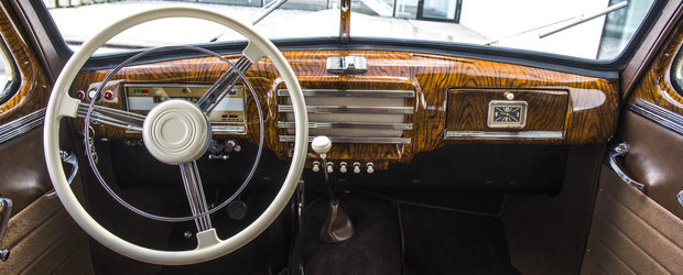 O SKODA SUPERB din 1948 a fost restaurata la perfectie. Cum arata acum nava amiral a cehilor