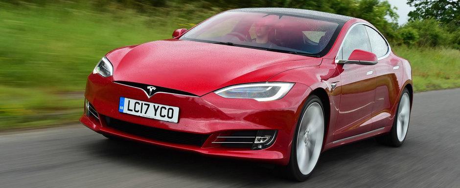 O Tesla Model S a intrat in istorie dupa ce a parcurs peste 1000 de km cu un singur plin