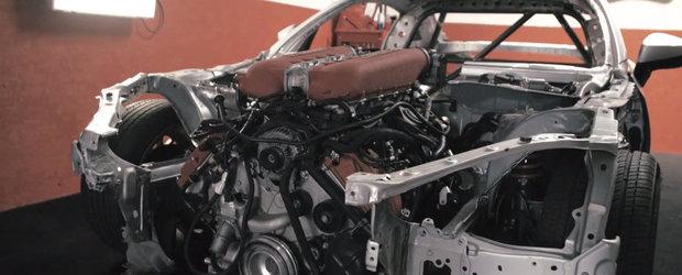 O Toyota 86 cu motorul V8 al lui Ferrari 458 e probabil cel mai nebun vis pe cale sa devina realitate