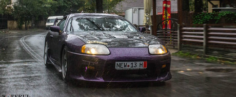 O Toyota Supra MkIV din Romania ne aduce aminte de Fast and Furious
