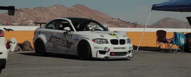 O tura pe circuit la bordul unui BMW 1M V8 de 450 CP