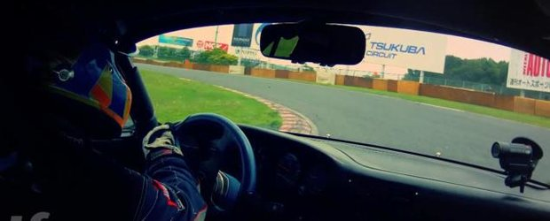O tura pe circuitul Tsukaba la bordul unui Porsche 930 Turbo Rauh Welt