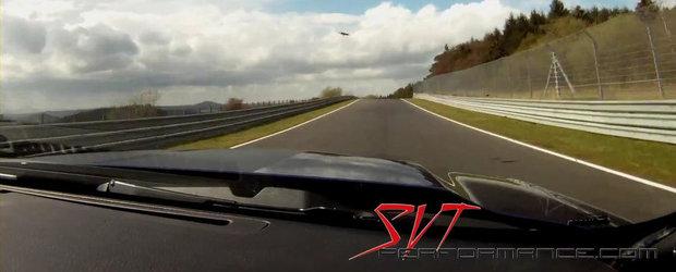 O tura pe Nurburgring la bordul extremului Shelby GT500
