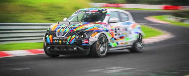 O tura pe 'Ring la bordul unui Nissan Juke-R cu NOS si 1000 CP