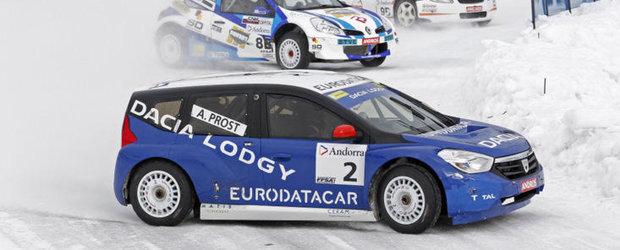 O victorie strategica pentru Alain Prost si Dacia Lodgy Glace
