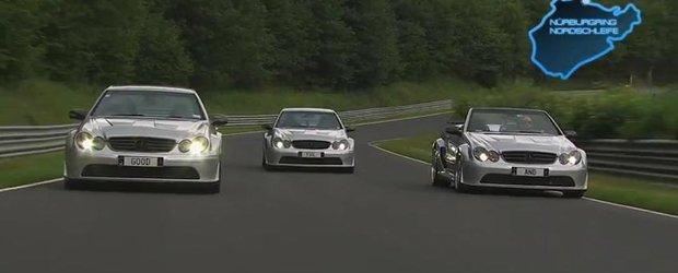 O zi de vis cu Mercedes AMG CLK DTM pe Nurburgring