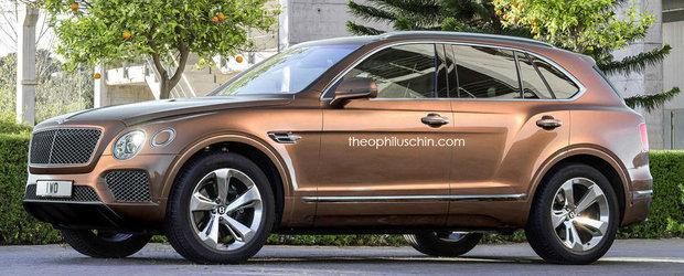 Oare asa va arata SUV-ul compact produs de Bentley in viitorul apropiat?
